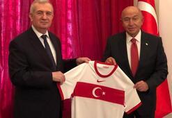 Başkan Özdemirden Budapeşte Büyükelçisi Oktaya ziyaret