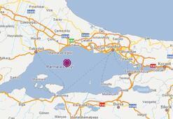 Son dakika... Deprem mi oldu İstanbul da hissedilen depremin ardından Marmara Ereğlisinde bir deprem daha