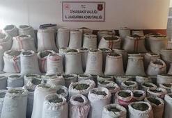 Diyarbakırda 1 ton 207 kilogram esrar ele geçirildi