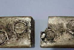 Muşta bulundu Antik Yunandan kalma külçe altın...
