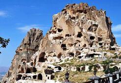 Uçhisar Kalesi Nevşehir İlinde Nerede Tarihi Kalenin Özellikleri Ve Hikayesi