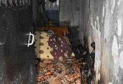 Annesiyle tartıştıktan sonra evi ateşe verdi