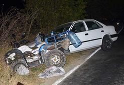 Tekirdağda trafik kazasında 1 kişi yaralandı