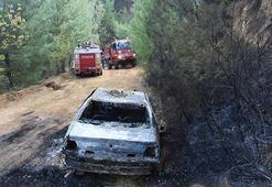Eskişehir'de orman yangını 12 saatte söndürüldü