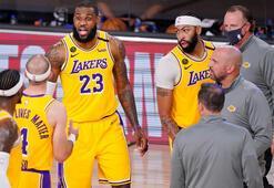 LA Lakers seride avantaj yakaladı