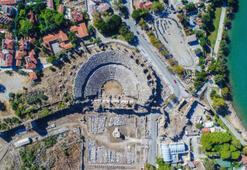 Side Antik Kenti Antalya İlinde Nerede Giriş Ücreti, Tarihçesi Ve Özellikleri