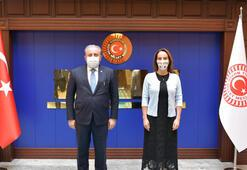 TBMM Başkanı Şentop, PAB Başkanı Gabriela Cuevas Barronu kabul etti