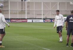 Yeni transfer Morata Juventusla ilk idmanına çıktı