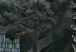 Son dakika...Çinde Huawei laboratuvarında dev yangın