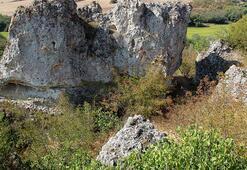 Edirnede Traklara ait tarihi kaya