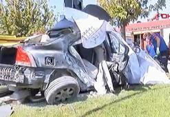 Yeşilköy'de feci kaza Çok sayıda araç sevk edildi