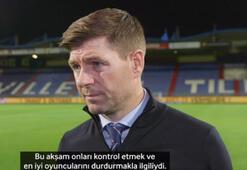 Gerrard, Willem maçı sonrası konuştu...