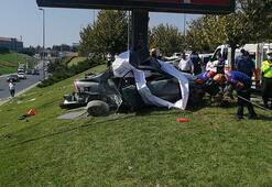 Bakırköydeki kazadan ilk görüntüler