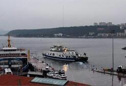 Gökçeadada bazı feribot seferleri iptal edildi