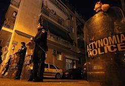 Yunanistanda terör örgütü DHKP-C yanlıları polisle çatıştı