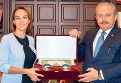 Şentop, PAB Başkanı Barron'u kabul etti