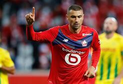 Burak Yılmaz ilk golünü attı Fransayı salladı Yıldız golcü için olay yorumlar...
