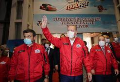 Cumhurbaşkanı Erdoğan, Teknofest 2020 Ödül Töreninde konuştu