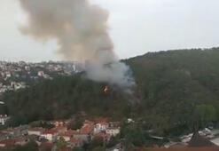 Son dakika Anadolu Hisarında yangın