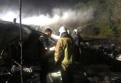 Ukraynada düşen uçağın karakutusuna cesetler taşındıktan sonra ulaşılacak
