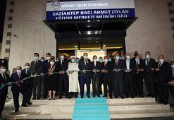 Son dakika... Cumhurbaşkanı Erdoğan, Hacı Ahmet Ziylan Eğitim Merkezinin açılışını yaptı