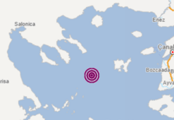 Son dakika... Ege Denizinde korkutan deprem