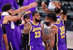 Los Angeles Lakers NBA finaline yükseldi
