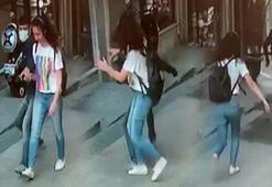 Taksim'de genç kız dehşeti yaşadı Arkasından yanaşıp...