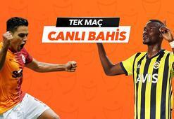 Galatasaray - Fenerbahçe derbisi Tek Maç ve Canlı Bahis seçenekleriyle Misli.com'da