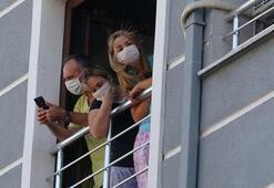 Bursada yangın 3ü çocuk 8 kişi dumandan etkilendi
