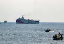 Oruç Reis, Antalya Limanından ayrıldı