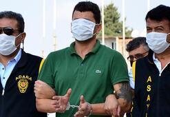 Adanada yakalanan firari hükümlü maskeyle yüzünü kapattı