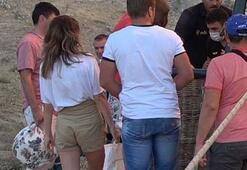 Rus turistler ilgiyle takip etti
