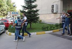 2 polis ve 3 bekçinin yaralanmasına sebep olan 5 kişi adliyede