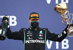 F1 Rusya Grand Prixsini Bottas kazandı