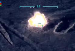 Son dakika... Ermeni hedefleri havadan böyle vuruldu