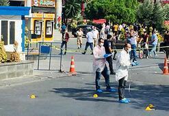 Esenyurttaki taksi durağında dehşet 5 kişiye gözaltı