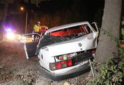 Kaza yaptığı aracı bırakıp kayıplara karıştı