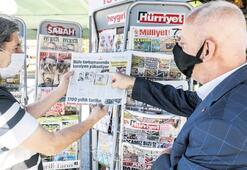 Gazete büfeleri, İstanbul Büyükşehir Belediyesi'ne sordu: 300 bin TL neye göre belirlendi