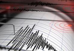 Son dakika... Egede korkutan deprem Depremin büyüklüğü...