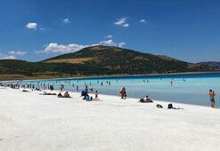 Bakan Kurum açıkladı Saldanın Beyaz Adalar bölgesinde göle ve plaja giriş yasaklandı