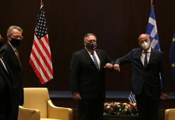 ABD Dışişleri Bakanı Pompeo Yunanistanda mevkidaşı Dendias ile görüştü