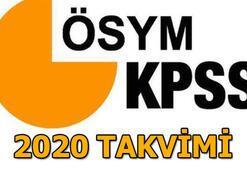 KPSS sınav sonuçları ne zaman açıklanacak ÖSYM takvimi KPSS 2020 tarihleri