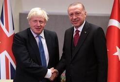 Son dakika: Cumhurbaşkanı Erdoğan Boris Johnson ile görüştü