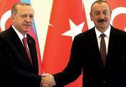 İlham Aliyevden Cumhurbaşkanı Erdoğana teşekkür