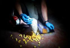 Cips paketinde uyuşturucu sevkiyatı