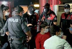Başkentte 750 polis, eğlence mekanlarında koronavirüs denetimi yaptı