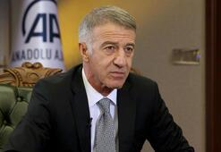 Trabzonspor Başkanı Ahmet Ağaoğlu: Güçlü bir Trabzonspor hedefine doğru hızla yürüyoruz