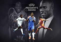 UEFAdan Drogbaya ödül