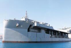 ABD'nin dev gemisi Girit'te